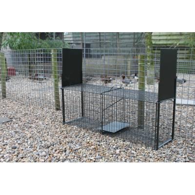 Lot de 4 cages à rats 1 entrée