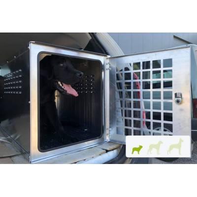 caisse transport chien aluminium