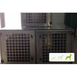 caisse de transport chien Aluminium