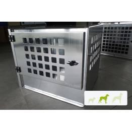 caisse de transport chien surélevé