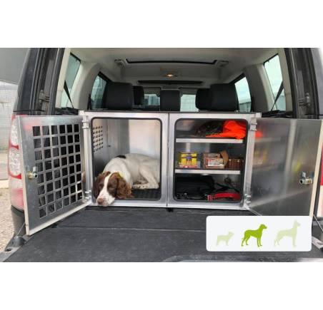 caisse de transport chien avec rangement