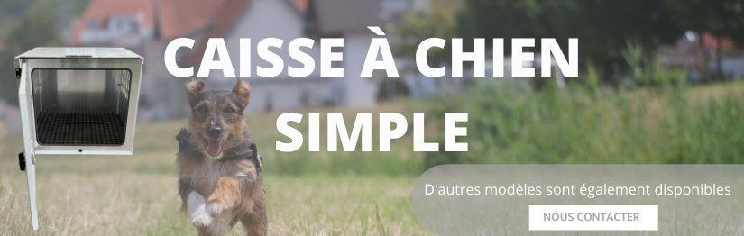 Caisse a chien simple |Henon Shop