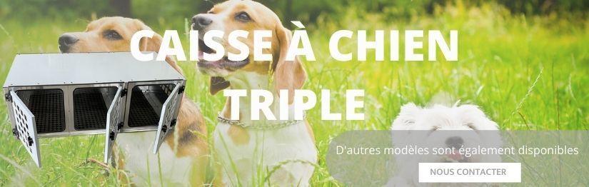 Caisse a chien triple | Henon Shop